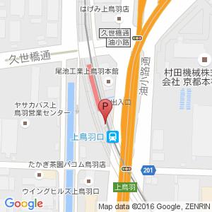 上鳥羽口駅自転車等駐車場 MapCycleで駐輪場探し